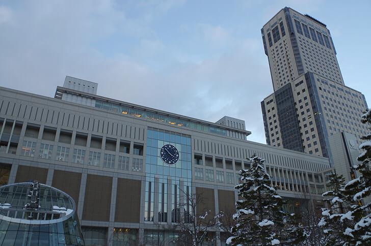 札幌駅の駅ビル