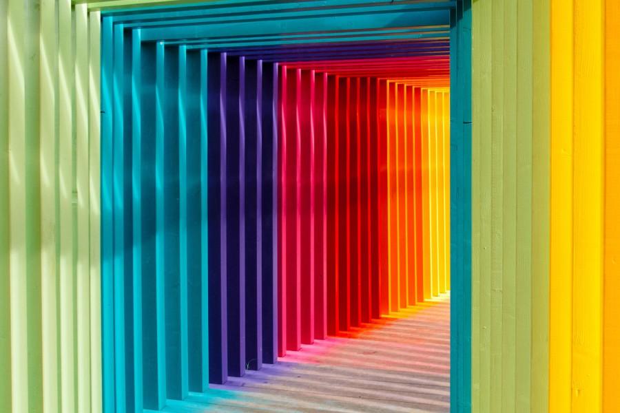 色彩効果の影響
