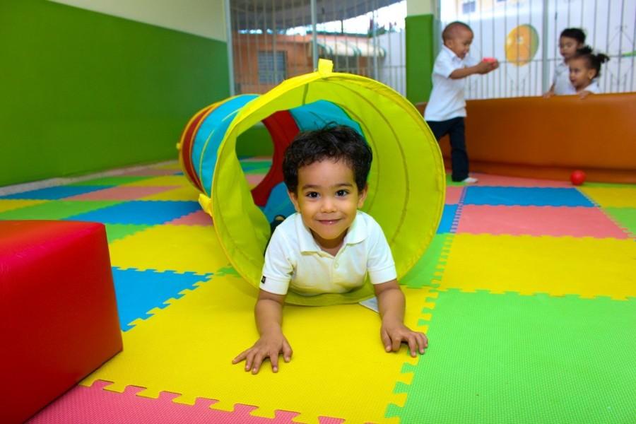子どもも部屋で遊べて安全な内装