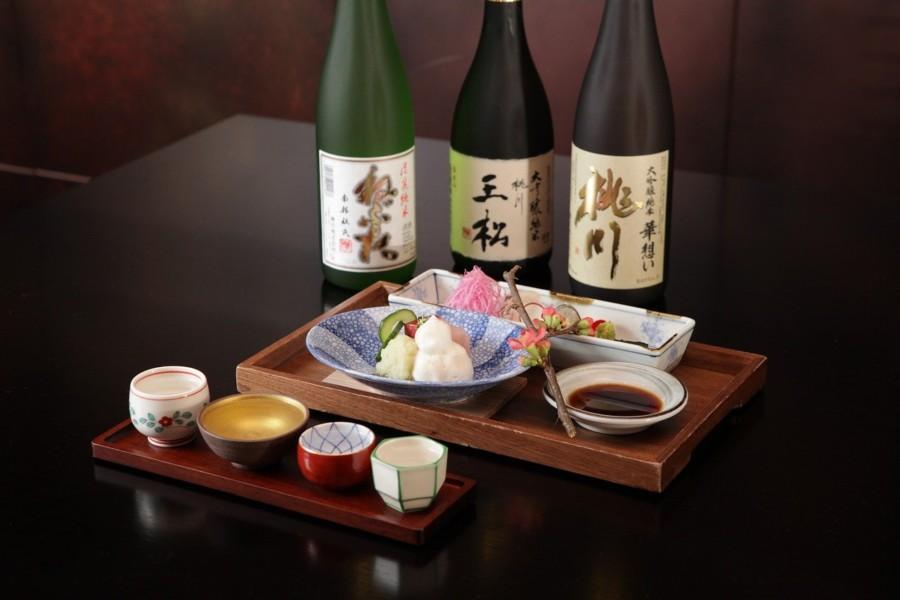 和食店に合うような食器やインテリア