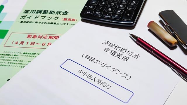 助成金、補助金タイプ2:人材雇用、育成投資への支援×6