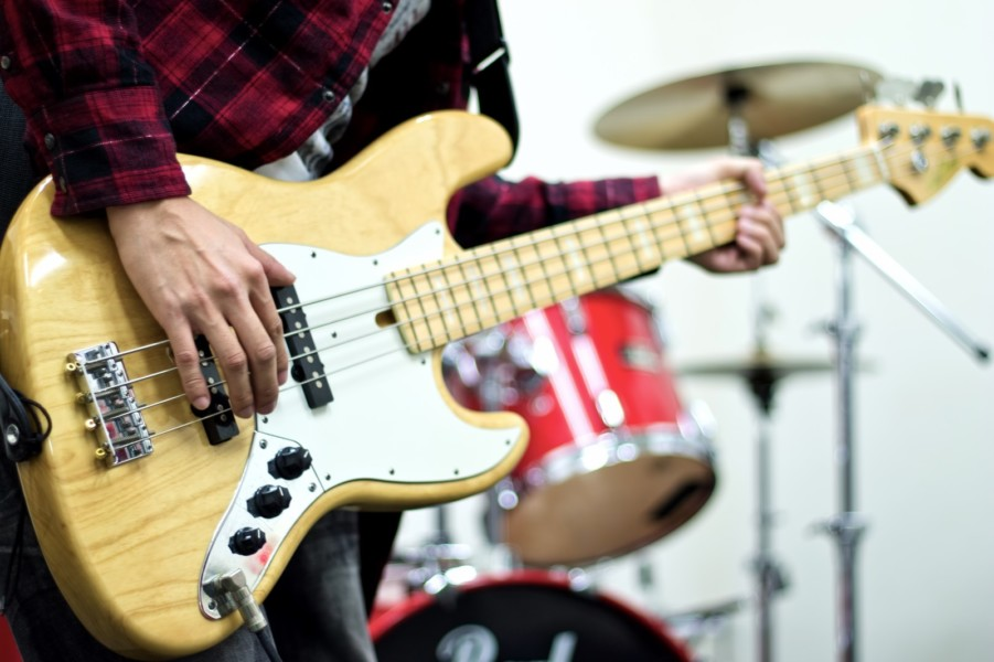 バンド練習可能なレンタルスタジオ