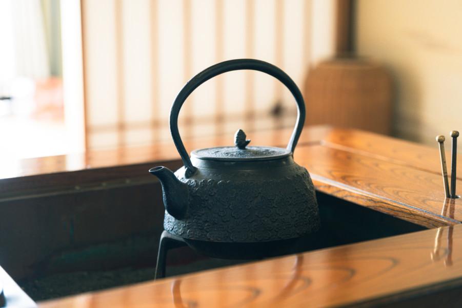 和の演出は家具、雑貨、内装をうまく利用する