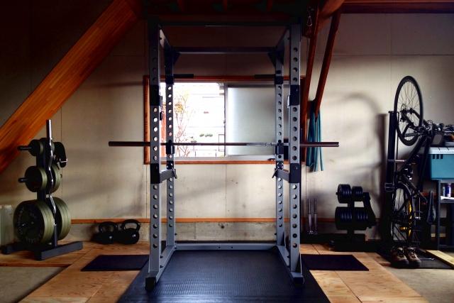 筋肉を鍛えるための人気マシン①パワーラック