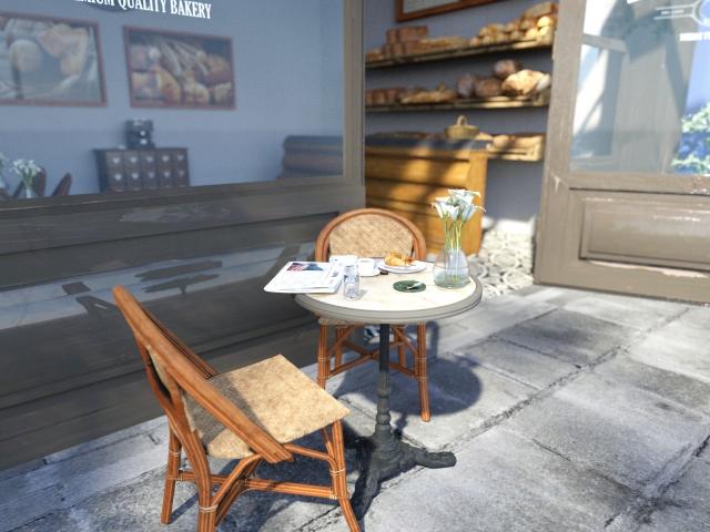 パン屋の内装ポイント④イートインスペースでファンを獲得!