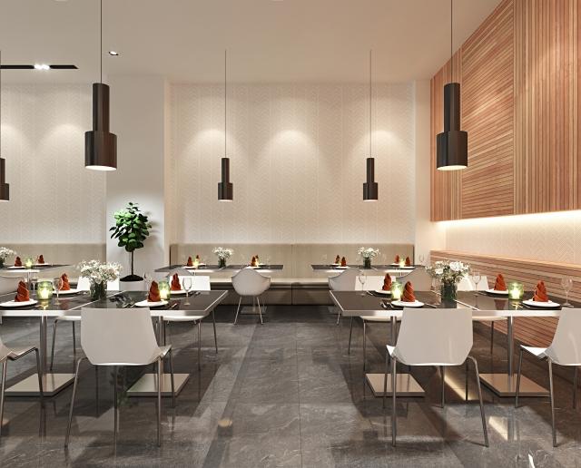 カフェの内装で最低限押さえるべきポイント②:ゆとりある空間にする