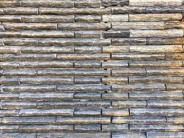 壁×ウッドタイル①:古材タイル