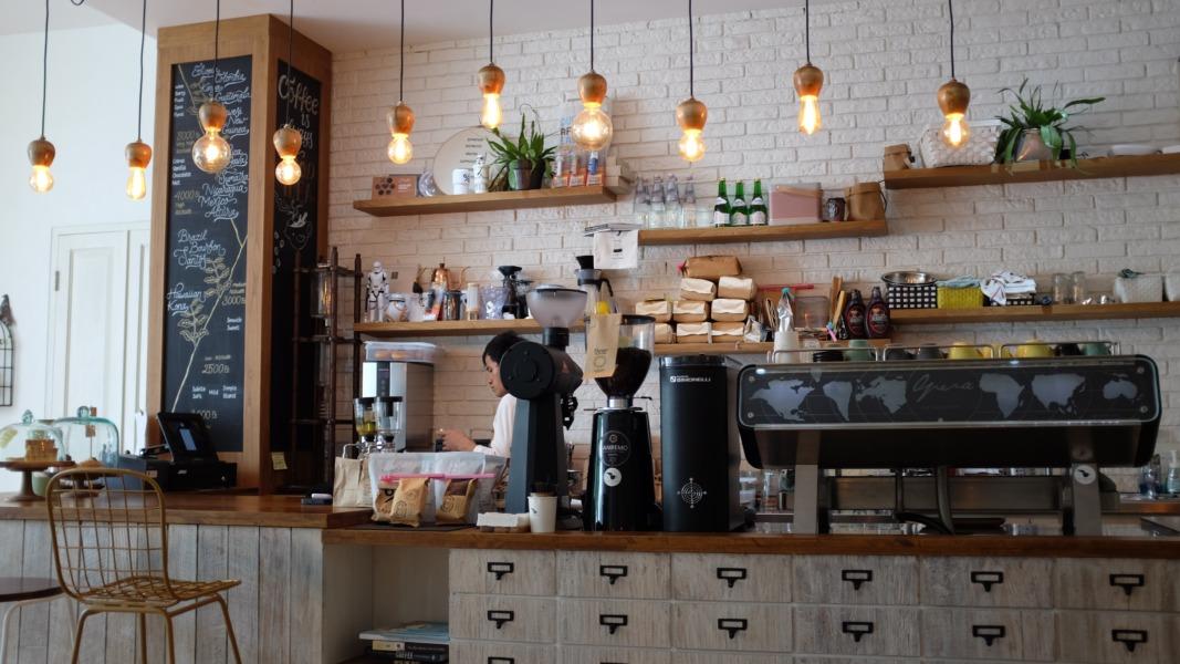 作業効率を上げるためのカフェの内装